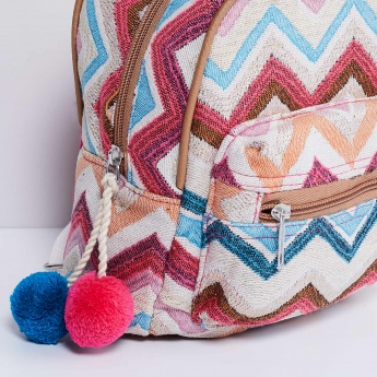 MAX Chevron Texture Backpack