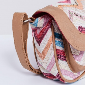 MAX Chevron Embellished Slingbag