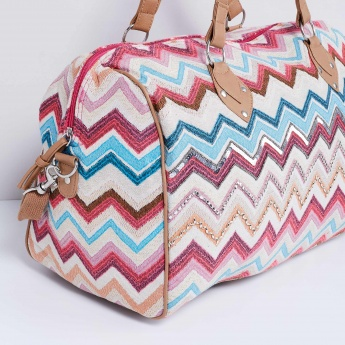 MAX Chevron Embellished Bag