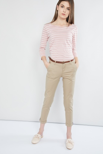 MAX Roll-up Cropped Pants