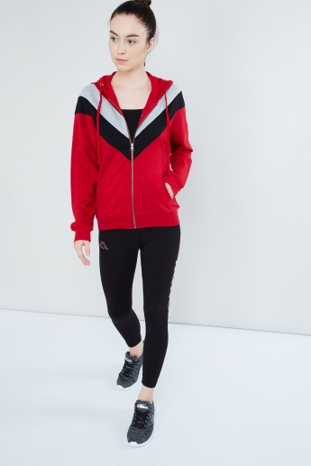 MAX Stripe Band Zip-up Sweatshirt