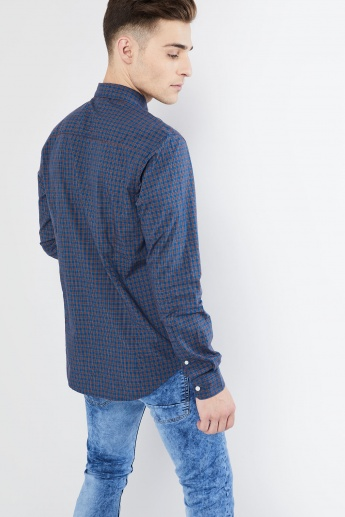 MAX Checked Long Sleeve Shirt