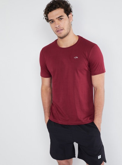 MAX Solid Crew Neck T-Shirt thumbnail