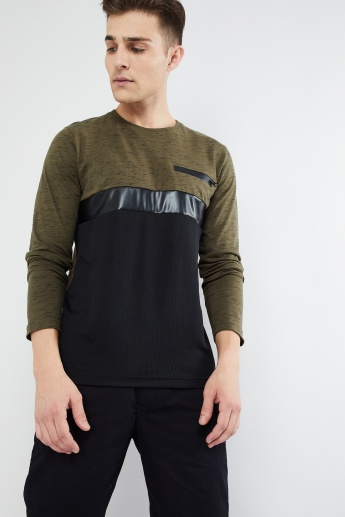 MAX Colourblocked Long Sleeve T-shirt