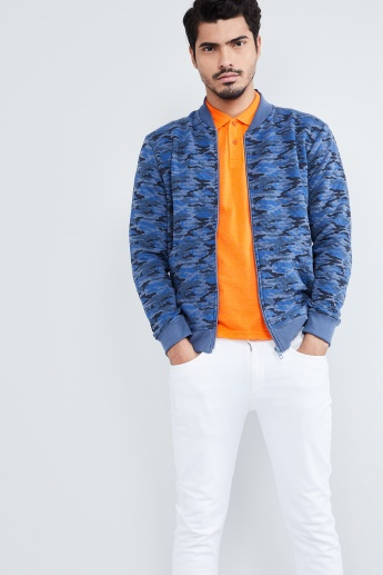 MAX Quilted Camouflage Sweatshirt