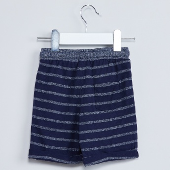 MAX Striped Knitted Shorts