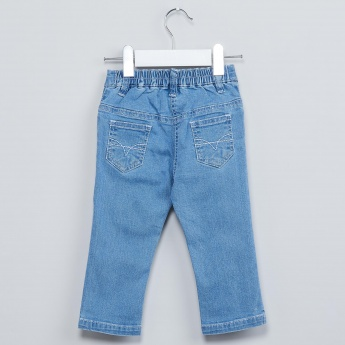 MAX Star Embroidery Jeans