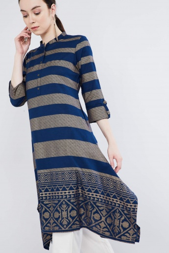 MAX Striped Handkerchief Kurta