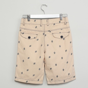 MAX Embroidered Cotton Shorts
