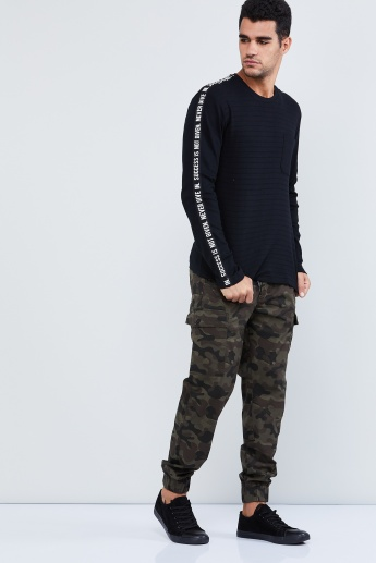 MAX Camouflage Printed Cargo Pants