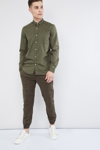 MAX Solid Long Sleeve Shirt
