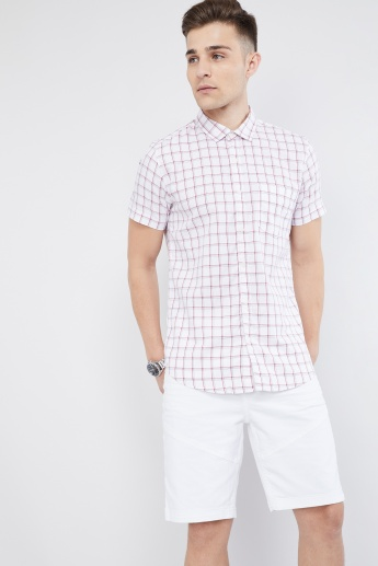 MAX Checked Short Sleeve Shirt