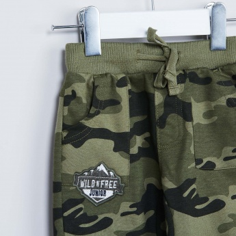 MAX Camouflage Printed Joggers