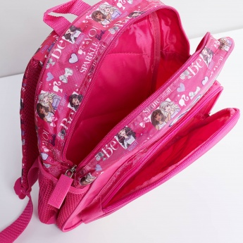 MAX Barbie Print School Backpack