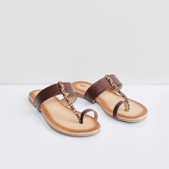 MAX Braided Toe Ring Sandals
