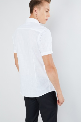 MAX Textured Short Sleeves Shirt