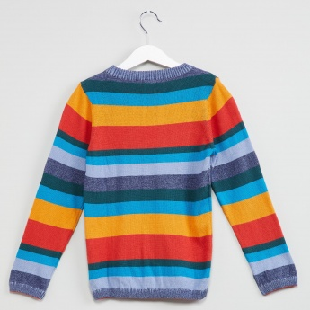 MAX Striped Full Sleeve Pullover