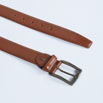 MAX Genuine Leather Perforated Belt