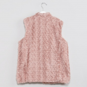 MAX Furry Sleeveless Top