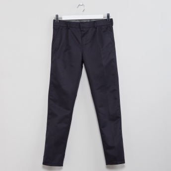 MAX Tapered Solid Trousers