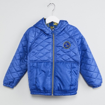 MAX Quilted Reversible Hooded Jacket