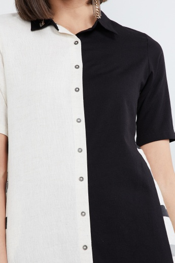 MAX Button Down Spread Collar Kurta