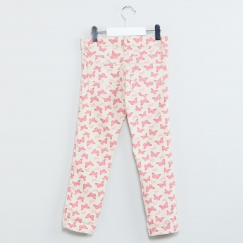 MAX Butterfly Print Pants