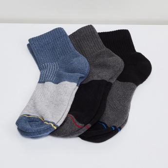 MAX Colourblock Sports Socks - Pack of 3