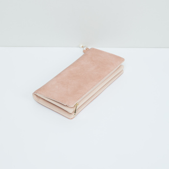 MAX Floral Accent Bi-Fold Wallet