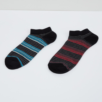 MAX Striped Sports Socks - 2 Pcs.