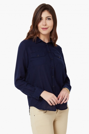 MAX Chest Pocket Full Sleeves Shirt