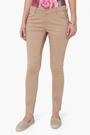 MAX Solid Casual Pants