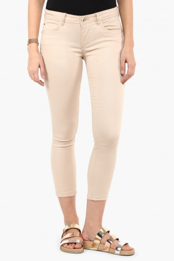 MAX Five-Pocket Cropped Pants