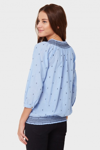 MAX Moroccan Embroidered Top