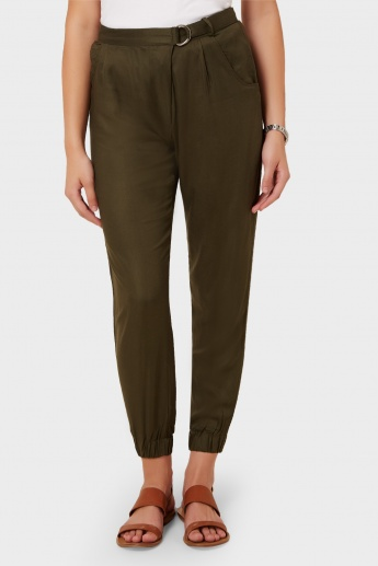 MAX Solid Pleated Pants