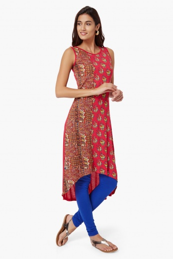 MAX Printed Sleeveless Kurta