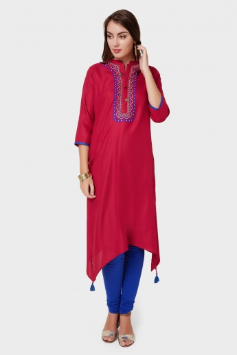 MAX Classic Embroidered Kurta