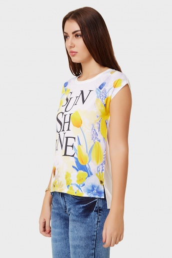 MAX Sunshine Printed T-Shirt