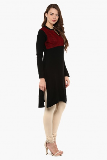 MAX Knitted Full Sleeves Kurti