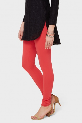 MAX Solid Churidar Leggings