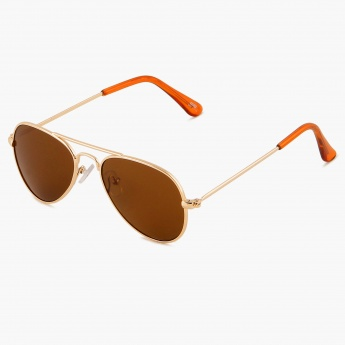 MAX Earthy Kids Aviator Sunglasses