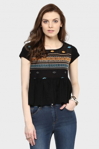 MAX Frilled Top