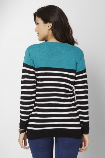 MAX Striped Sweater