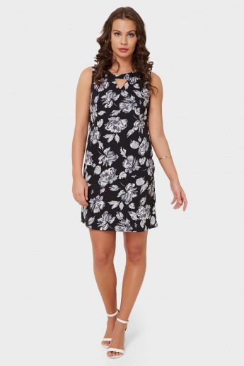 MAX Printed Sleeveless Dress