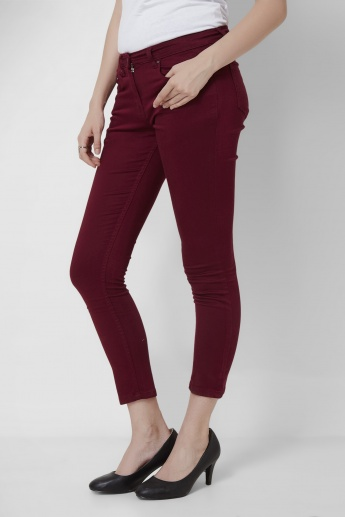 MAX Solid Stretch Slim Fit Pants