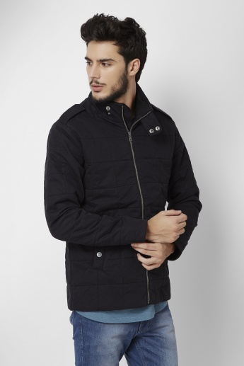 MAX Solid Quilted Jacket