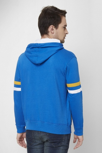 MAX Embossed Hooded Sweatshirt
