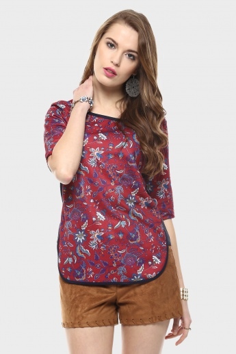 MAX Curved Hem Top