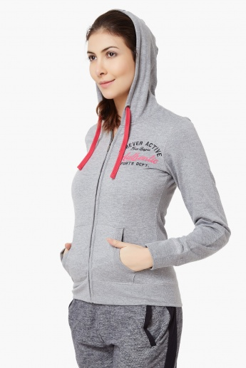 MAX Full Sleeves Hooded Jacket