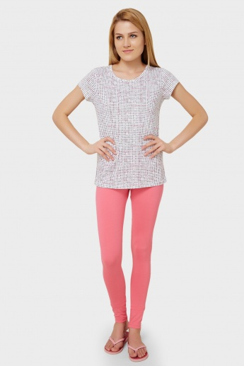 MAX Printed Top & Tights Set